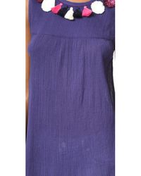 Banjanan - Purple Bev Top - Lyst
