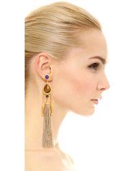 Ben-Amun - Metallic Jasmine Earrings - Lyst