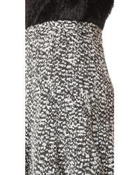 Carven - Natural Skirt - Lyst