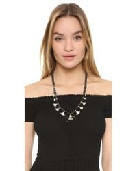Chan Luu | Black Wood Horn Necklace | Lyst