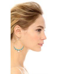 Chan Luu - Blue Turquoise Earrings - Lyst