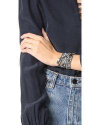 Chan Luu   Multicolor Printed Convertible Wrap Bracelet   Lyst