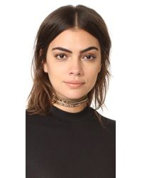 Chan Luu - Multicolor 3 Wrap Choker Necklace - Lyst