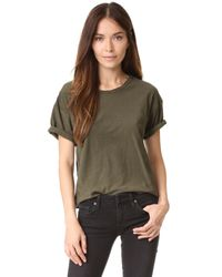 Citizens of Humanity | Green Premium Vintage Esmay T-shirt | Lyst