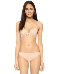 Calvin Klein | Natural Perfectly Fit Modern T-shirt Bra | Lyst