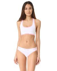 Calvin Klein - White Modern Cotton Bikini Briefs - Lyst