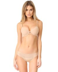 Calvin Klein | Natural Perfectly Fit Mesh Full Coverage Lined Bra | Lyst
