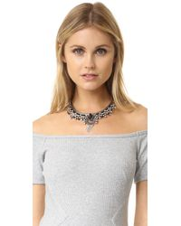 DANNIJO - Black Misch Ii Necklace - Lyst