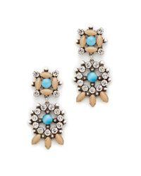 DANNIJO - Blue Lagos Earrings - Lyst