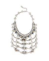 DANNIJO - Metallic Galileo Necklace - Lyst