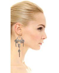 DANNIJO - Metallic Zaniah Earrings - Lyst