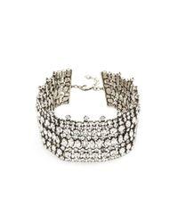DANNIJO - Metallic Stellan Choker Necklace - Lyst