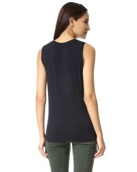 David Lerner | Black Muscle Tank | Lyst