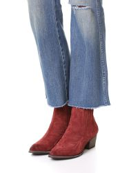 Dolce Vita - Red Seth Booties - Lyst
