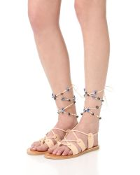 Dolce Vita - Natural Jalen Gladiator Sandals - Lyst