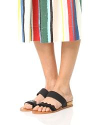 Dolce Vita - Black Pacer Sandals - Lyst