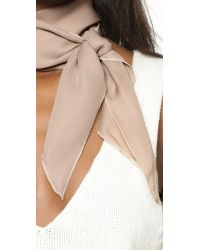 Donni Charm - Natural Donni Lady Scarf - Lyst