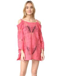 Eberjey | Multicolor Guajira Esmeralda Cover Up Dress | Lyst