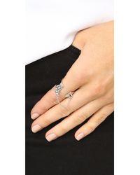 Eddie Borgo | Metallic Safety Chain Ring | Lyst