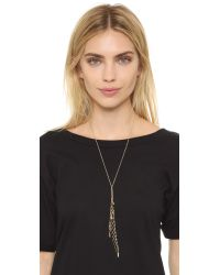 Elizabeth and James - Metallic Wright Necklace - Lyst