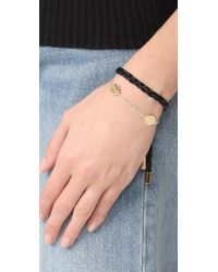 Elizabeth and James - Metallic Montero Bracelet - Lyst