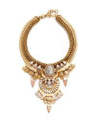 Elizabeth Cole | Natural Luella Necklace | Lyst