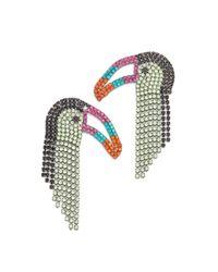 Elizabeth Cole | Green Macah Earrings | Lyst