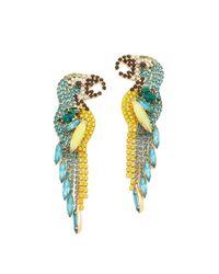Elizabeth Cole   Multicolor Zazu Earrings   Lyst