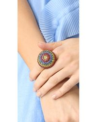 Elizabeth Cole - Multicolor Johanna Ring - Lyst