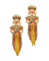 Elizabeth Cole | Multicolor Lola Earrings | Lyst