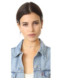 Ela Rae - Multicolor Libi Two Choker Necklace - Lyst