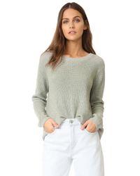 525 America | Gray Emma Sweater | Lyst