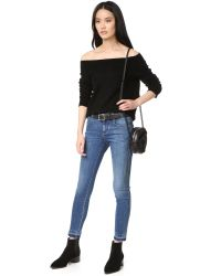 Feel The Piece - Black Kerri Off The Shoulder Top - Lyst