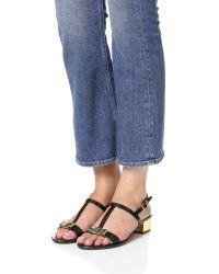 Ferragamo - Multicolor Favilia Jelly City Sandals - Lyst