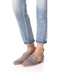 Free People - Gray Royale Flats - Lyst
