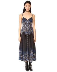 Free People | Black Be My Baby Maxi Dress | Lyst