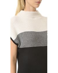 Fuzzi - Multicolor Sleeveless Sweater - Lyst