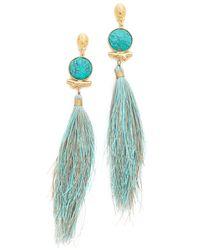 Gas Bijoux | Blue Serti Bella Earrings | Lyst