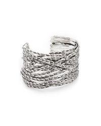 Gas Bijoux - Metallic Liane Bracelet - Lyst