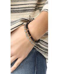 Gorjana   Black Power Onyx Bracelet For Protection   Lyst