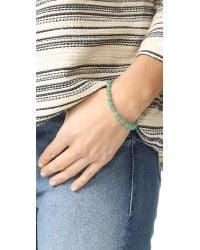 Gorjana - Multicolor Power Aventurine Bracelet For Luck - Lyst