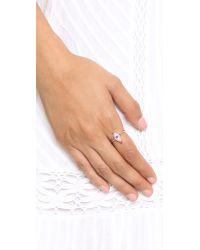 Holly Dyment | Metallic Little Blue Enamel Eye Ring | Lyst