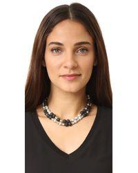 Hipchik Couture - Black Kellie Choker Necklace - Lyst