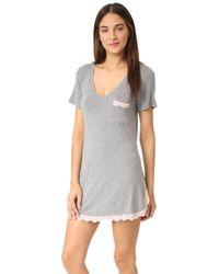 Honeydew Intimates | Gray Modern Drifter All American Sleep Shirt | Lyst