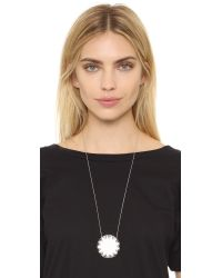 House of Harlow 1960 | Metallic Sunburst Pyramid Pendant Necklace | Lyst