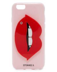 Iphoria - Red Lush Lips Mirror Iphone 6 / 6s Case - Lyst
