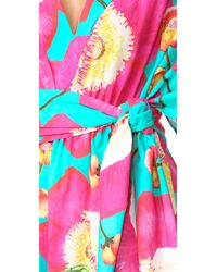 Isolda - Multicolor Wide Caftan - Lyst
