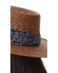 Janessa Leone | Brown Louis Bolero Hat | Lyst