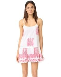 Juliet Dunn | White Cami Cover Up Dress | Lyst