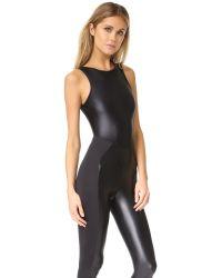 Koral Activewear - Black Aerial Meter Jumpsuit - Lyst